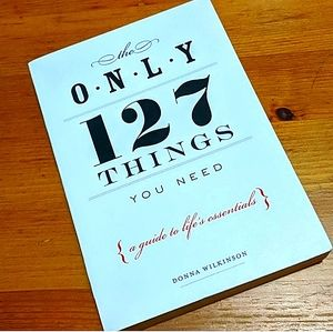 "3/$35- ""The Only 127 Things You Need"" Book"